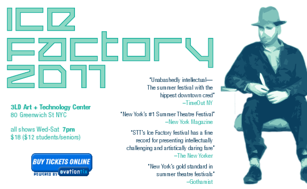 Ice Factory Flyer